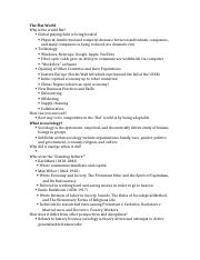 study guide Sociology 153 test one
