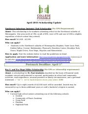 April AScholarship Update 4.2015.docx