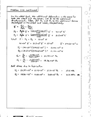 109_Mechanics Homework Mechanics of Materials Solution