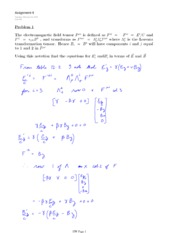 PHYS 454 HOMEWORK 4 SOLUTIONS