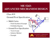 Lecture 19 on Advanced Mechanism Design