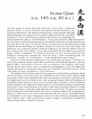 02 Anthology of Chinese Literature - Introduction to Sima Qian
