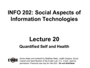 INFO202-S15-Lecture20-QuantifiedSelf-2