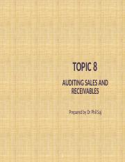 GS PPT Topic 8 Auditing sales & receivables.pptx