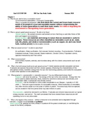 HR Test One Study Guide_Summer2010  ANSWERS