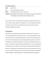 Internal-Memorandum-Report-1 final
