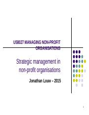 NFP 2015 strategic management .ppt