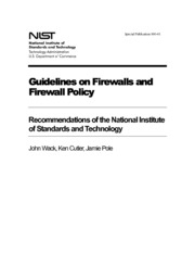 NIS Guide on Firewall And Firewall Pol 800_41