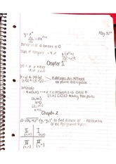 Chapter 1 to 5 class notes