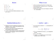 Lecture 4 slides(t-test & Partition)