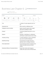 BUA Chapter 6 flashcards | Quizlet