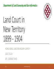 1 Land Court New Territory