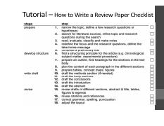 Writing a Review Paper-checklist.pdf