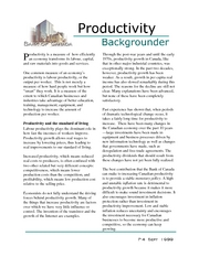 6. Productivity (Ch4-5)