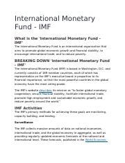 International Monetary Fund.docx