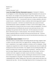 breach of duty essay