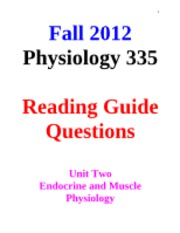 Unit 2 - Reading Guide Questions - Fall 2012