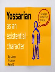 Catch 22 (Presentation): How Yossarian is an Existential Hero