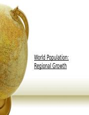 02. Regional growth, DTM & projections.ppt