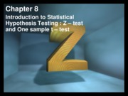 Ch8_Z&T tests