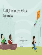 Health Nutrition Safety Presentation