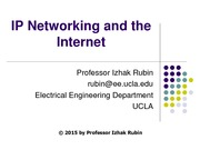 Section 7 TCPIP Networks and the Internet