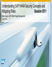 0511 Understanding SAP HANA Security Concepts and Mitigating Risks.pdf