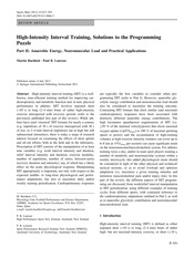 High-Intensity Interval Training, Solutions to the Programming Puzzle