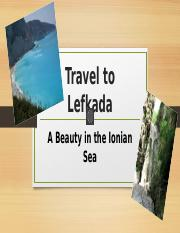 Travel to Lefkada ttp