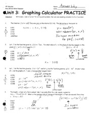 Unit_3_Graphing_Calculator_Practice_ANSWER_KEY