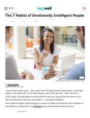 The 7 Habits of Emotionally Intelligent People.pdf