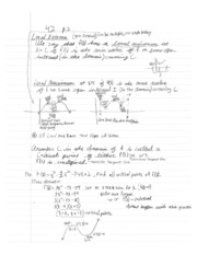 Calculus1 Notes 10 MVT
