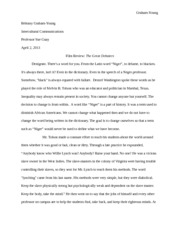 Interpersonal communications the great debaters paper