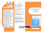 Psychodynamic Theories Brochure