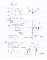 Inequalities Page 130 solutions