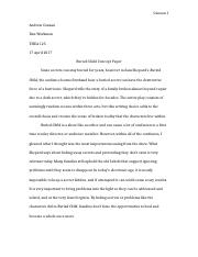 Buried Child Concept Paper