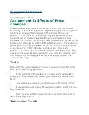 Effects of Price Changes.docx