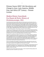 HIST 104 PRIMARY SOURCE REVOLUTION AND CHANGE 20TH - PRESENT DOCUMENT 3