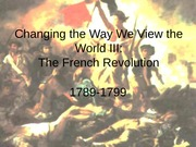 4 French Revolution Lecture 2