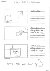 Storyboard A Day in the life
