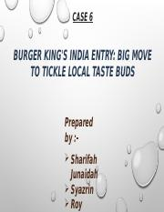 BURGER KING INDIA ENTRY group 6.pptx