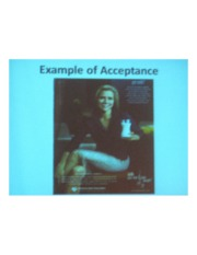 PSYCH 360 Social Psychology - Example of Acceptance