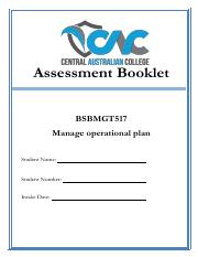 BSBMGT517_CAC Assessment booklet.pdf