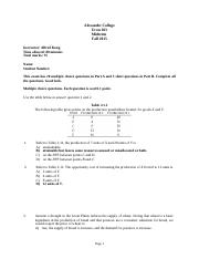 Econ 103 Midterm - 2015 Fall Solutions (1).doc