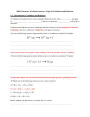z-Worksheet Answers ALL Topic 9 and 19.pdf