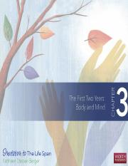 Ch 3 - The First Two Years - Body and Mind.ppt