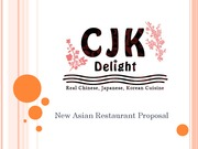 Final Project CJK Delight Presentation