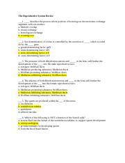 Reproductive System Review Questions Part I.doc