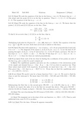MATH 105 Homework 1 Solutions