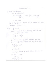 Assignment -3 solutions